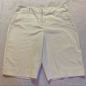Chico's size 1.5 long khaki walking shorts